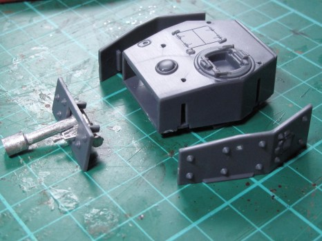 Assembly of the turret
