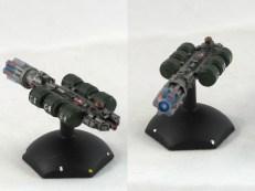 "A Full Thrust ""Tradewind II"" freighter"