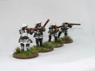 """Imperial"" ashigaru with teppo"