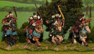 Genpei horse archers