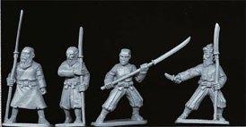 Peasants or bandits with naginata