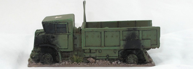 Anyscale Models CMP Truck Wreck
