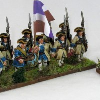 Muskets and Tomahawks French detachment