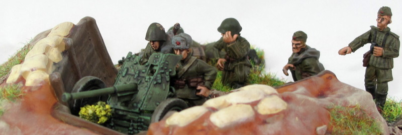 Warlord Soviet 45mm AT Gun review
