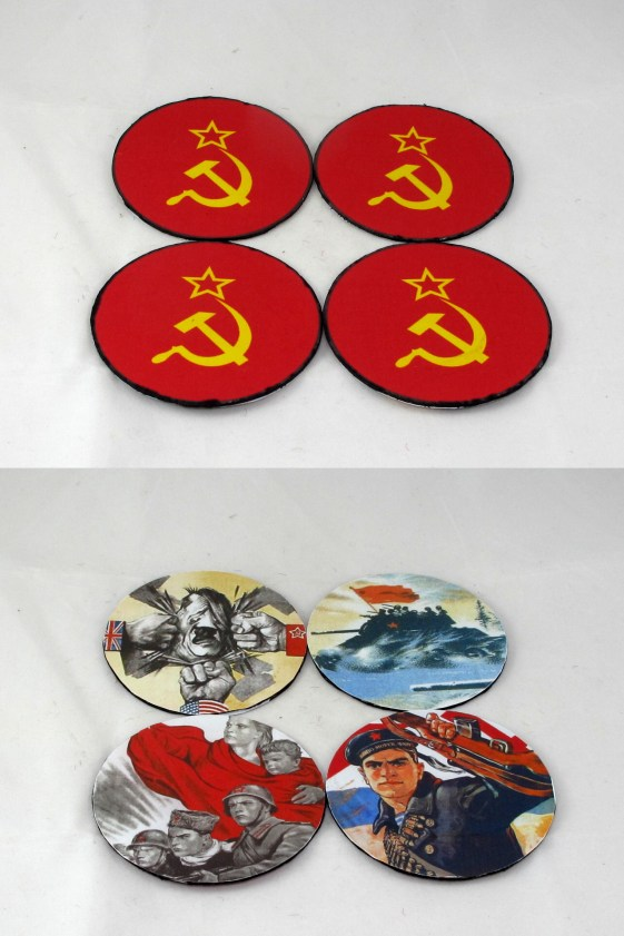 Patrol markers, front and rear