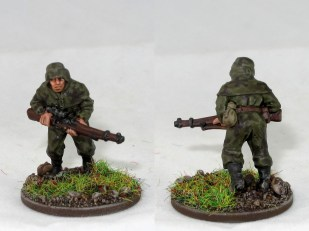 "One of the ""sniper"" miniatures, but totally works as a scout"