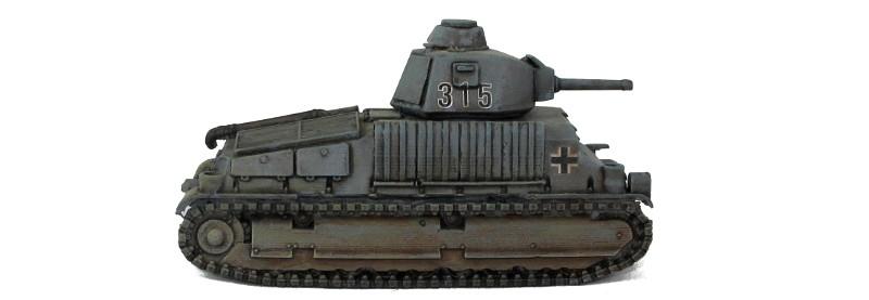 Blitzkrieg Miniatures Somua S35 Beutepanzer