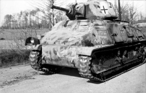 Frankreich/Belgien, Panzer Somua S35