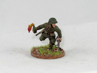 Some quirky options are included, such as this molotov arm