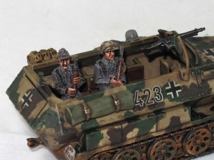 The plastic Warlord 251. I've got a gunner figure somewhere, I'll paint him up to match.