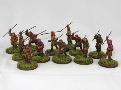 A few smelly Breton skirmishers