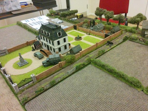 WW2 Black Ops, the commandos had to raid this chateau