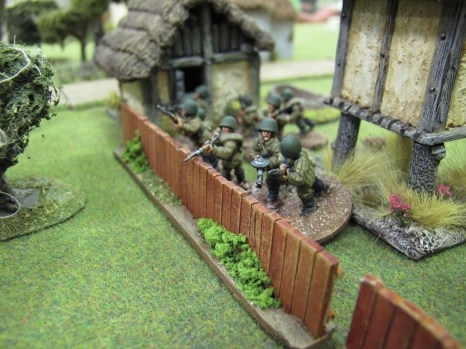 Lured out by the prospect of targets in the open, the Soviets spring their ambush