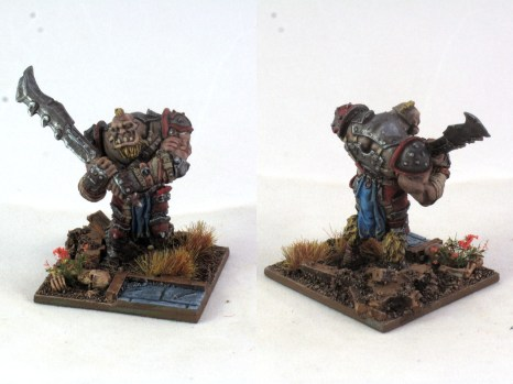 Mordheim Ogre Mercenary