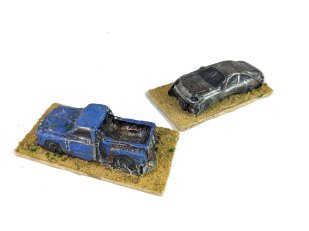 Gaslands wrecked cars