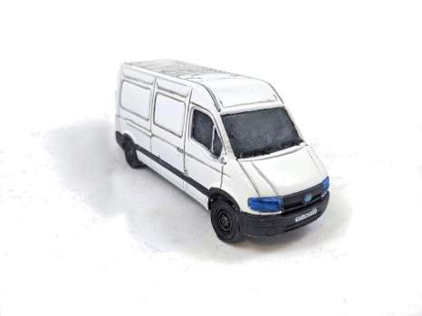 The mighty white Ford Transit