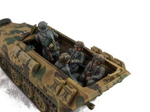Close up of the 251/1 squad transport version