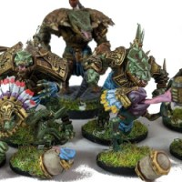 Blood Bowl Lizardman Team