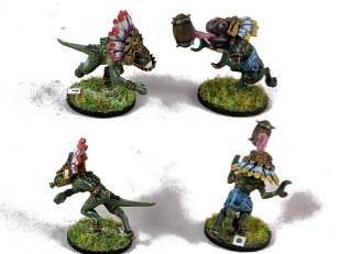 BB Lizardmen skinks 3