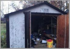 Trash in Shed