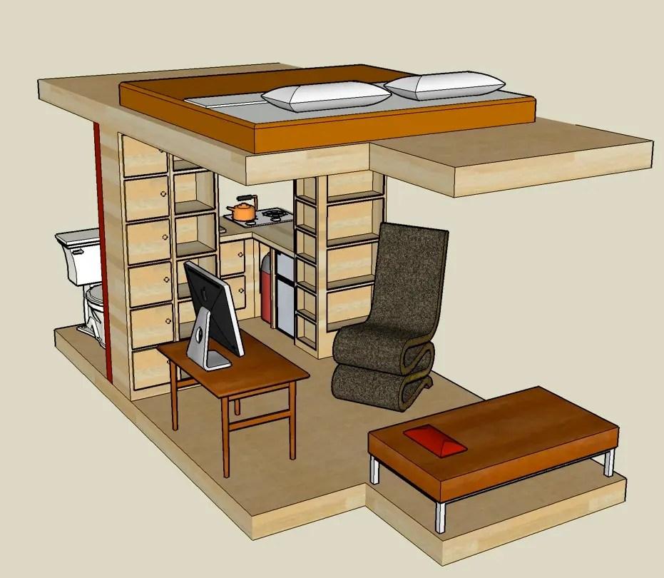 Tiny Cabin Interiors