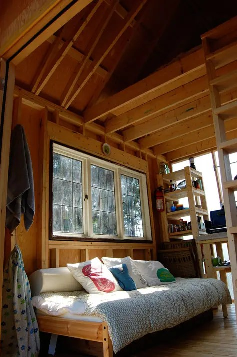 Cabin Loft framing