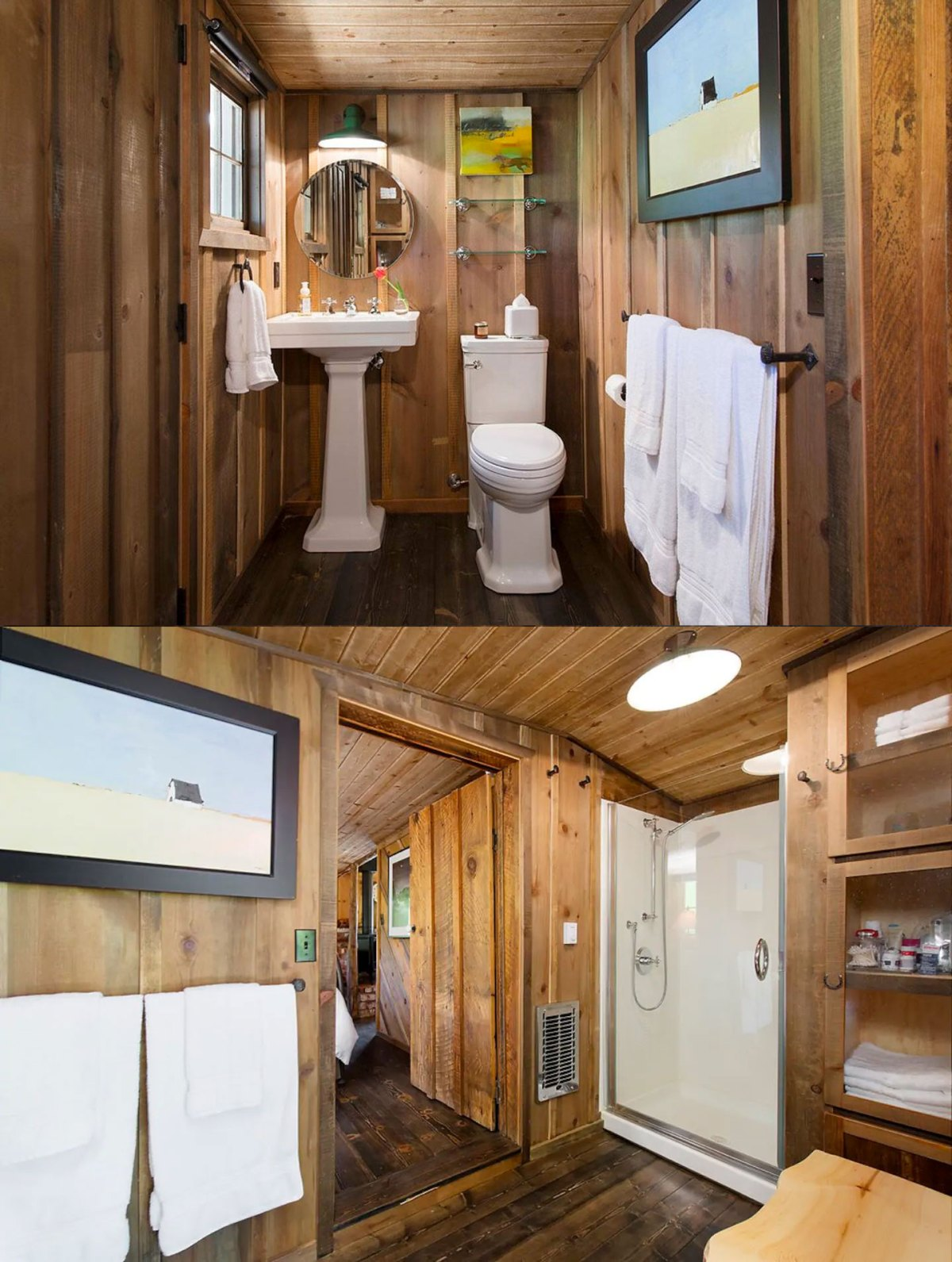 pictures of tiny house bathrooms