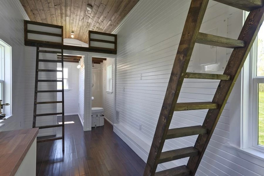 """""""The Loft"""" Provides A Generous 224 Square Foot Layout"""