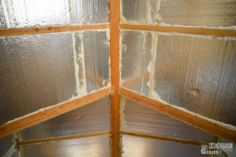 Roof insulation - actually looks pretty