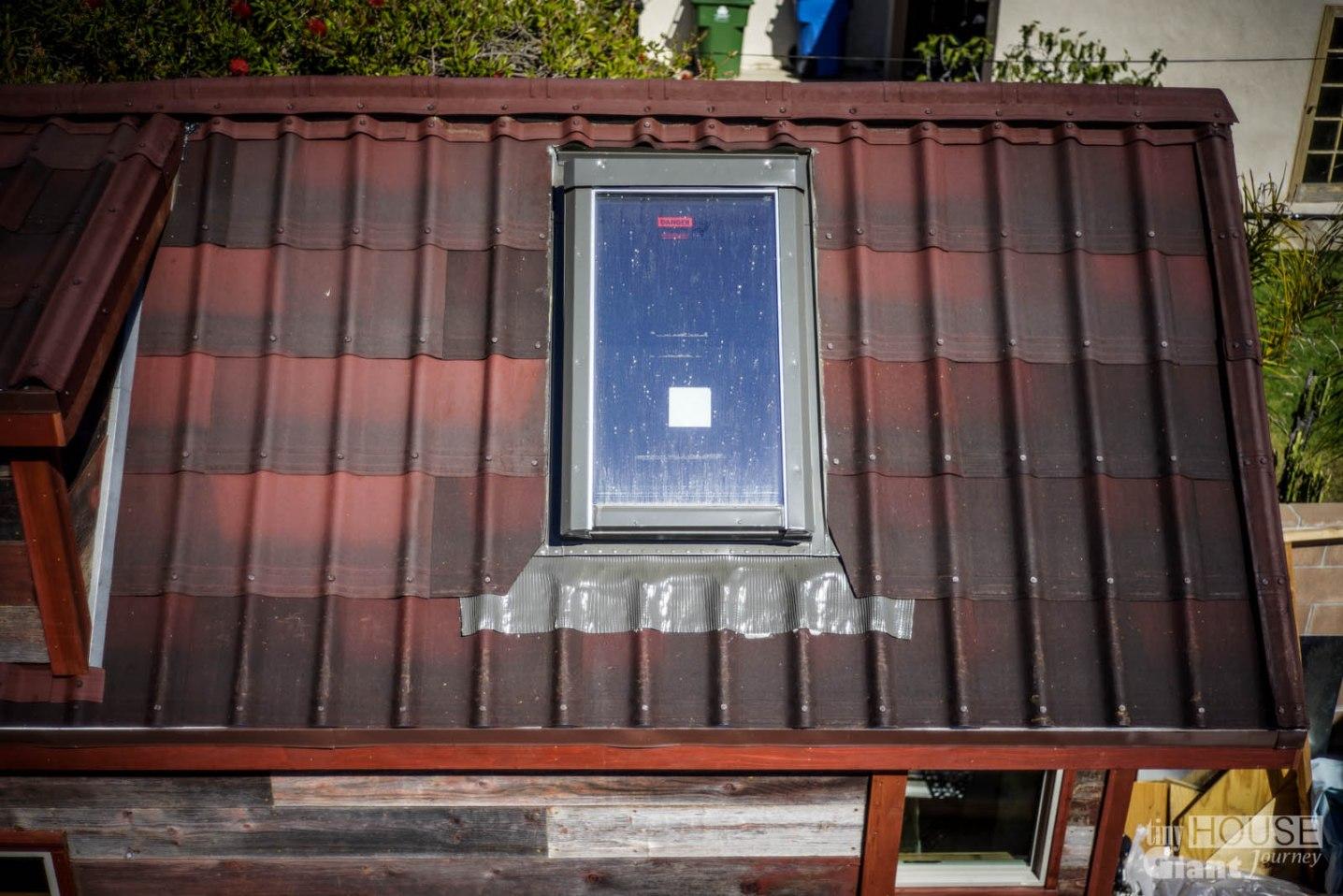 Tiny House Giant Journey Ondura Onduvilla 3D Shingles Roof - 0044