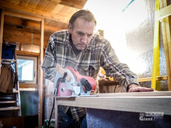 Trimming the door
