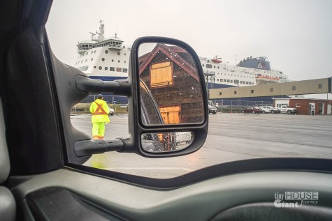 How to get a tiny house and a ferry in the same shot