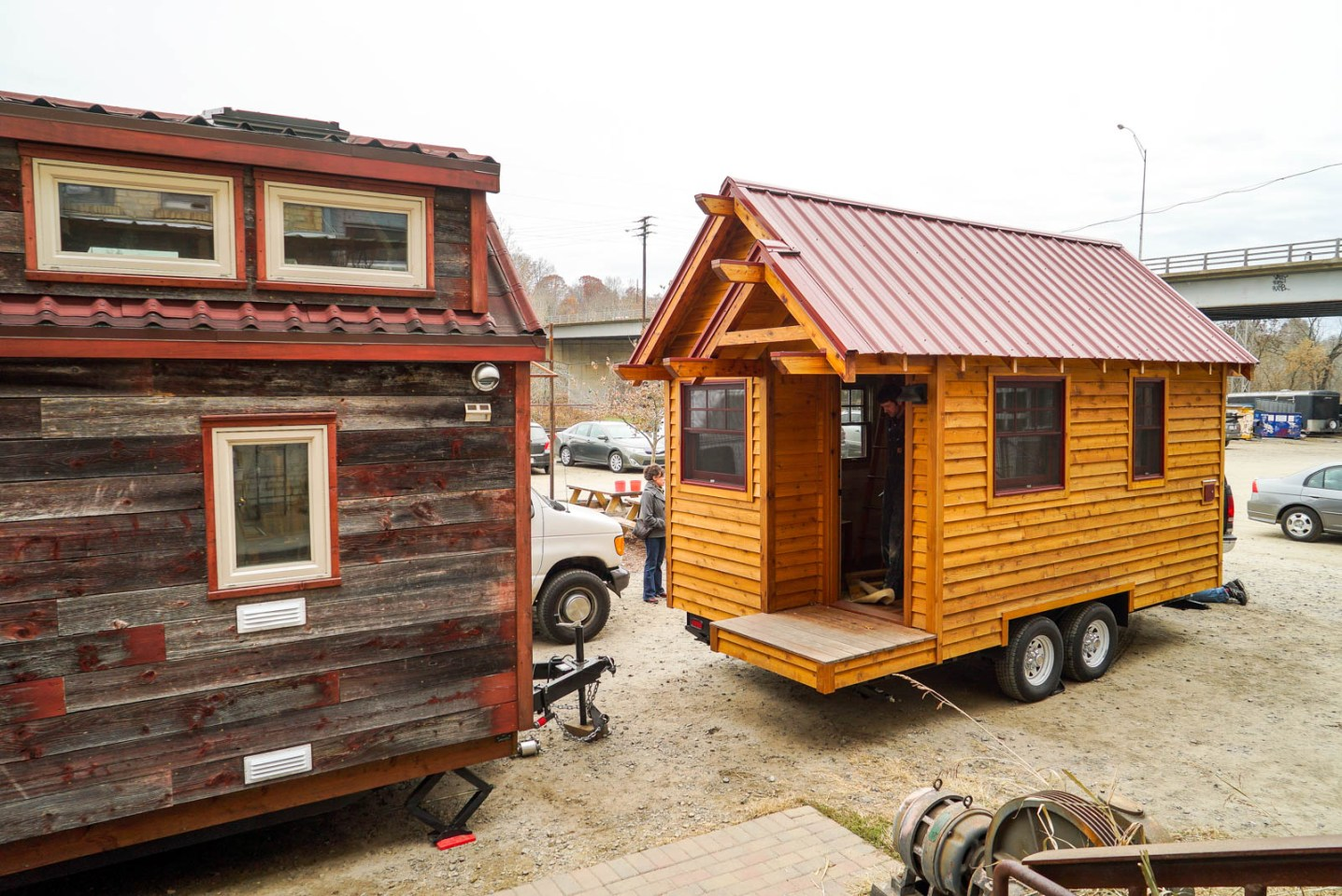 THGJ Open house with Wishbone Tiny Home