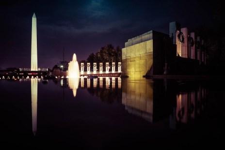WW2 Memorial & Washington Monument