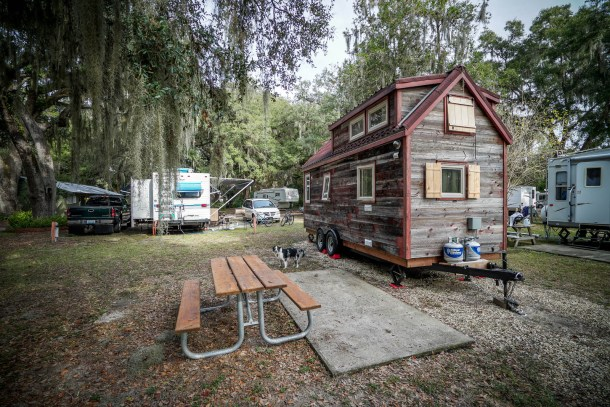 Tiny House Camping In The Usa