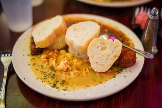 @801: Crawfish Etouffee & Red Beans and Rice