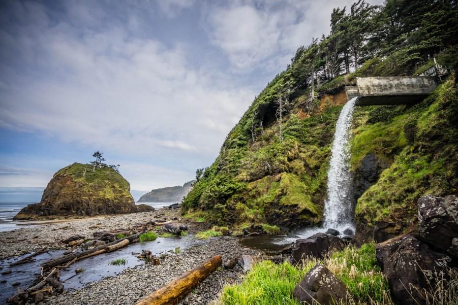 Oregon Coast Short Beach - 0001