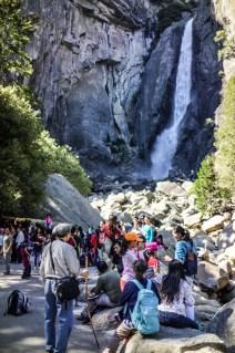 Lower Yosemite Falls / Disney World Traffic