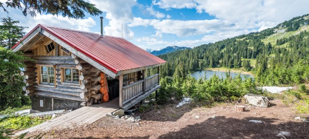"""Canadian Wilderness Adventure's """"Top Of The World Cabin"""""""