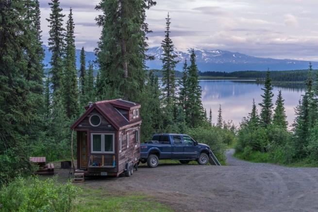 Our campsite at Morchuea Lake