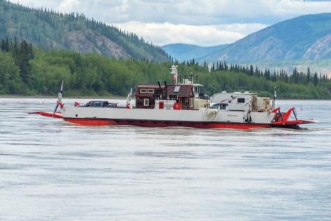 Dawson City Ferry - 0006