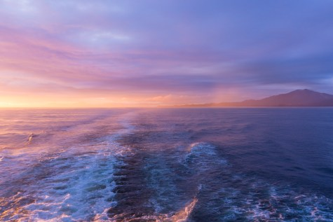 Ferry Sunset - 0004