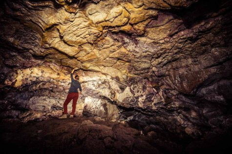 Inside Boy Scout Cave