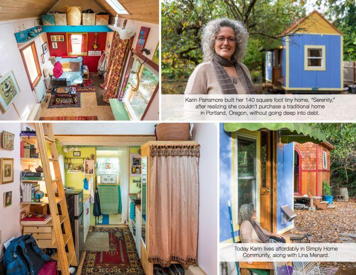 Karin's Serenity Tiny Home