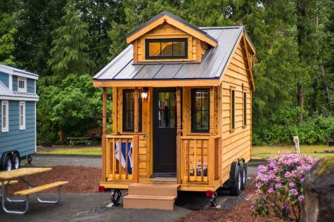 Mt Hood Tiny House Village Atticus Tumbleweed - 0004