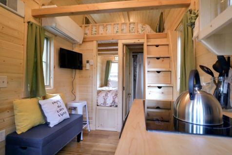 Mt Hood Tiny House Village Savannah Tumbleweed - 0018
