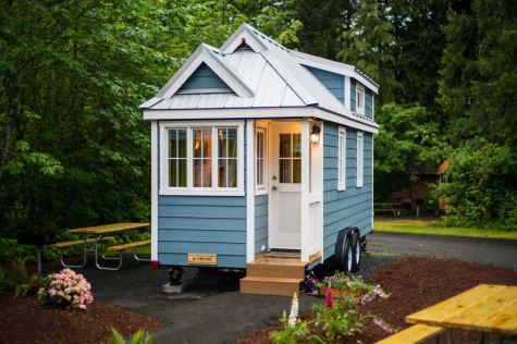 Mt Hood Tiny House Village Zoe Tumbleweed - 0002
