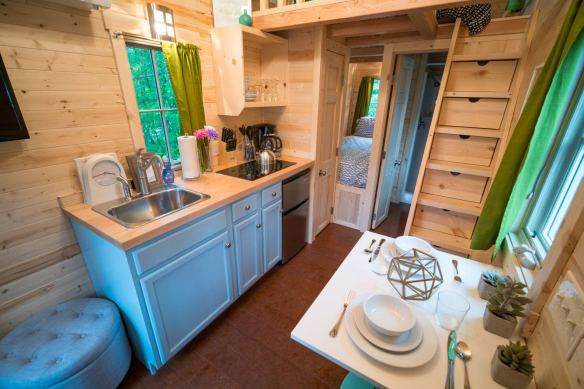 Mt Hood Tiny House Village Zoe Tumbleweed - 0014