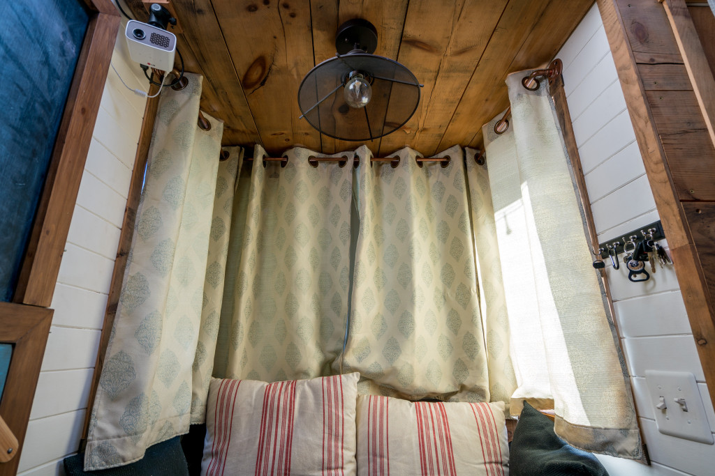 copper curtain rods easy diy for tiny