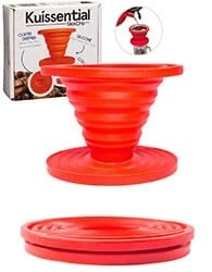 Kuissential-SlickDrip-Collapsible-Silicone-Coffee-Dripper